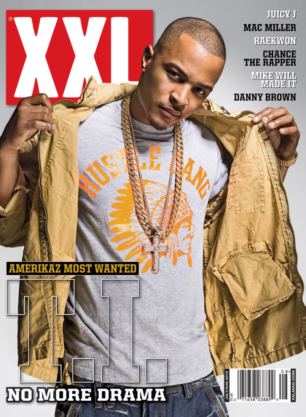 T.I. XXL cover july august 2013