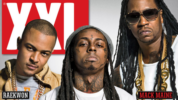 T.I., Lil Wayne & 2 Chainz Cover XXL Magazine's July/August Cover