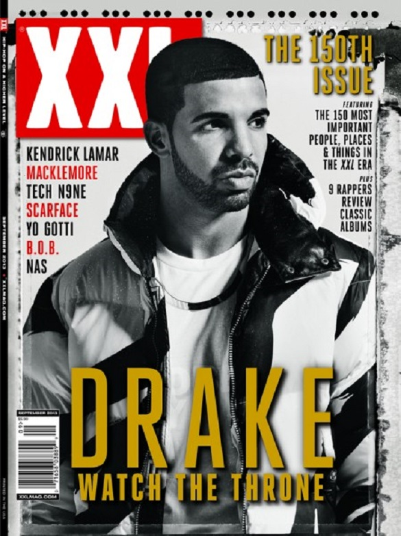 Drake Covers XXL Magazine's 150th Issue