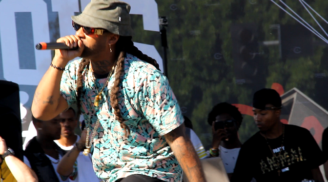 """Ty Dolla $ign - """"Irie"""" Live At 1st Annual """"Welcome To The Block Party"""""""