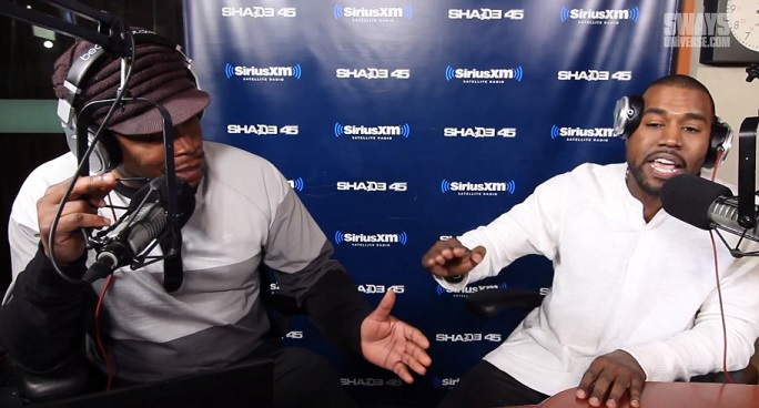 Kanye West & Sway Calloway Argue Live On Shade 45 + More