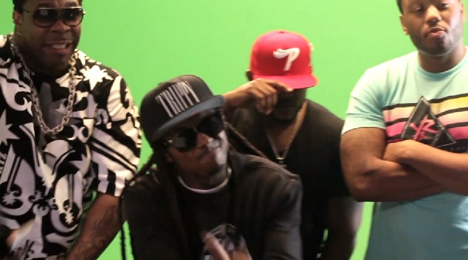 Busta Rhymes - Thank You Ft. Lil Wayne, Kanye West & Q-Tip   Behind The Scenes