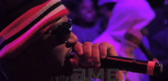 Smoke DZA Joins Cam'ron Live At Stage 48