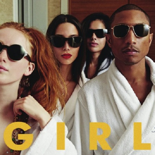 Pharrell - G I R L | Artwork + Tracklist