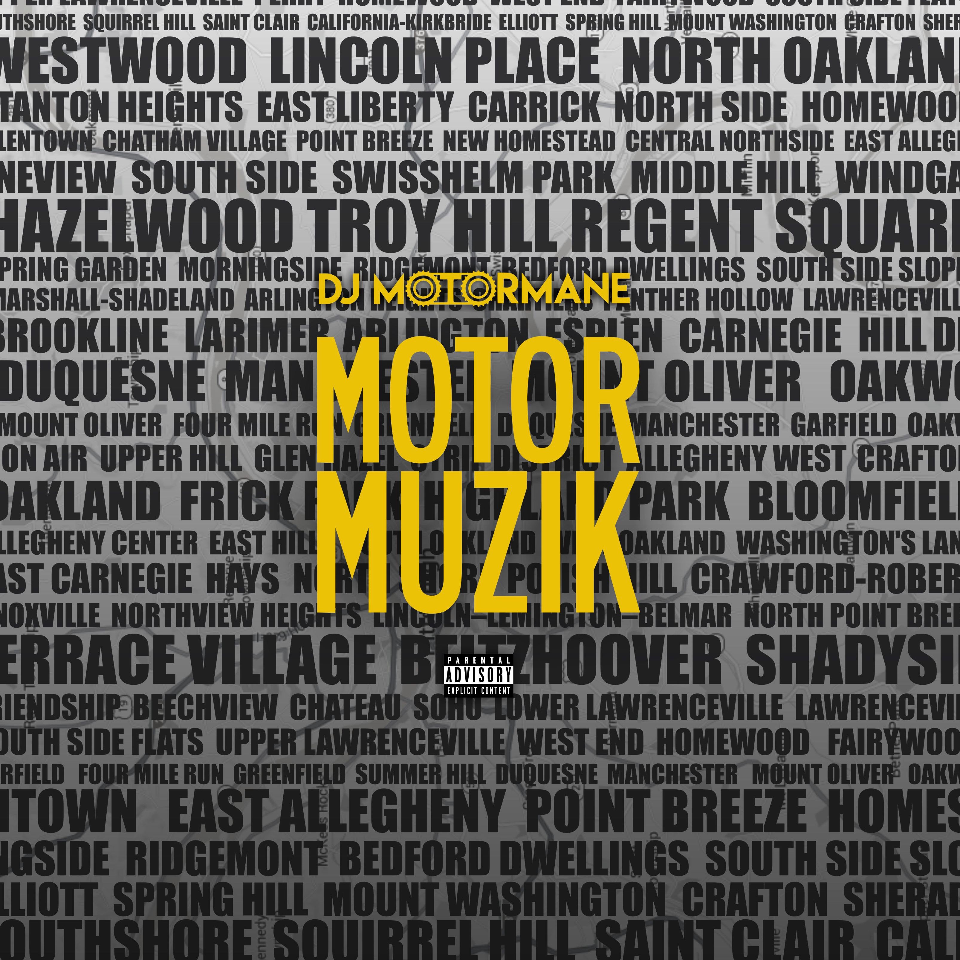 "DJ Motor Mane Putting out ""Motor Muzik"" 4/12"