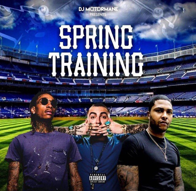DJ Motormane - Spring Training (The Mixtape)