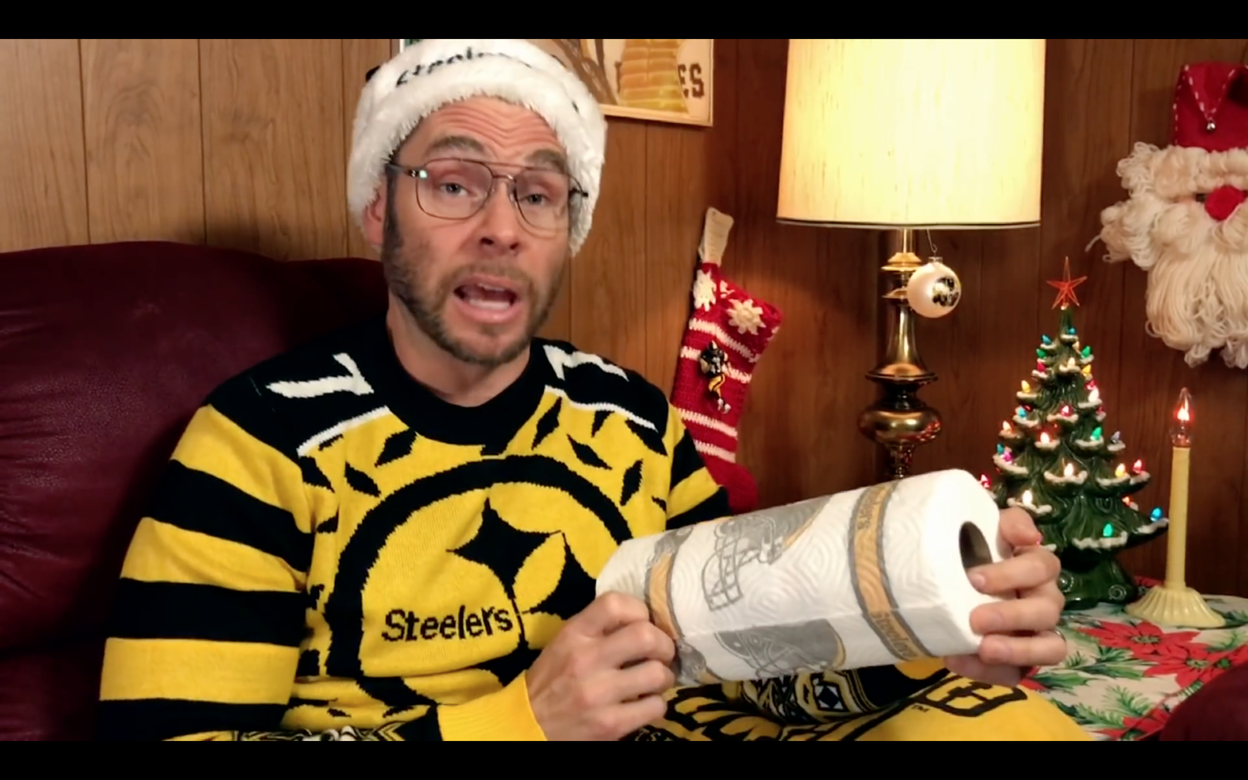 (Pittsburgh) Dad Reacts to Steelers vs Ravens